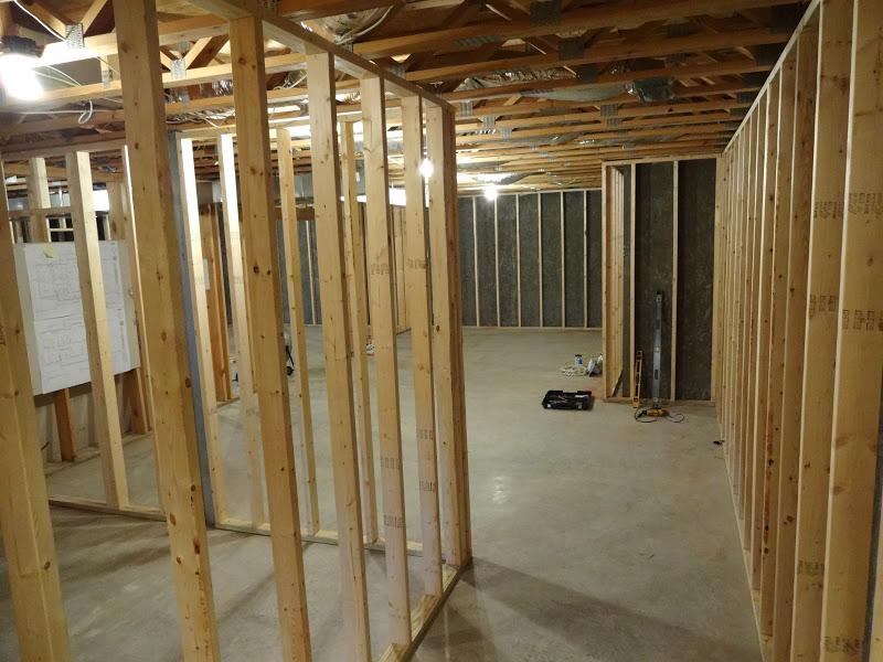 Shenandoah Gateway Farm: Basement Framing