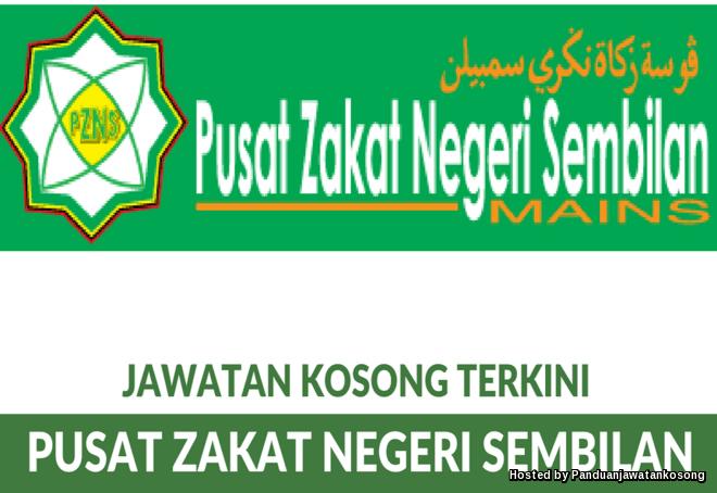 Iklan Jawatan Kosong Pusat Zakat Negeri Sembilan (31 Disember 2017)
