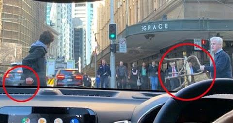 Így tombolt a késes merénylő Sydney belvárosában