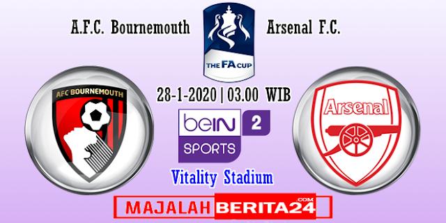 Prediksi AFC Bournemouth vs Arsenal — 28 Januari 2020
