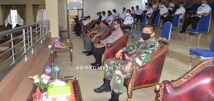 DPRD Mesuji Gelar Rapat Penyampaian Nama Pansus LKPJ Bupati