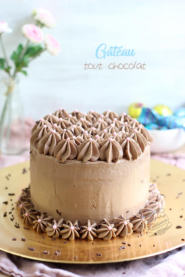 recette layer cake chocolat