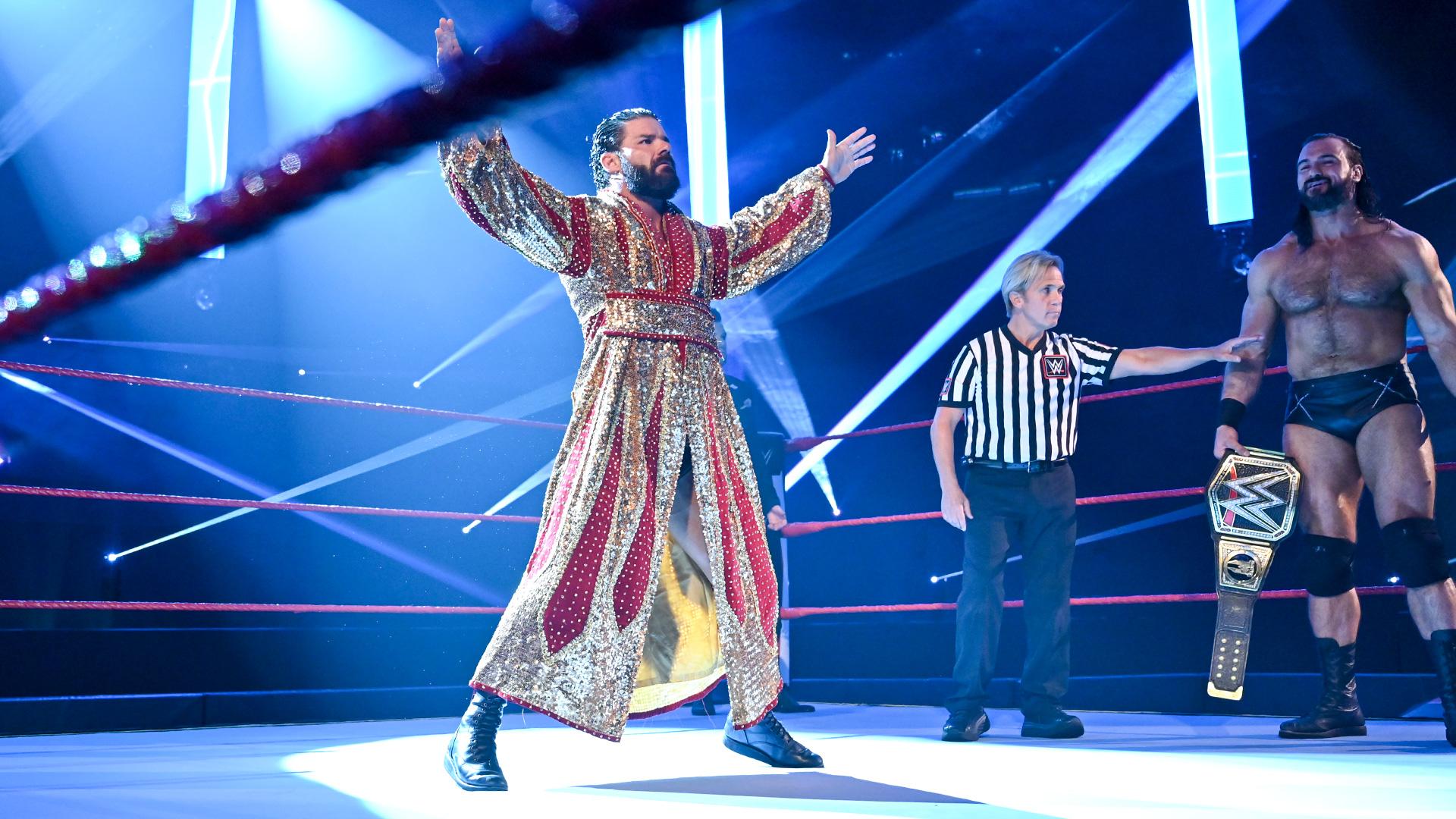 Robert Roode retorna a WWE em grande combate contra Drew McIntyre