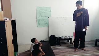 Mengajar tahsin al-quran dengan metode talaqqi pada anak