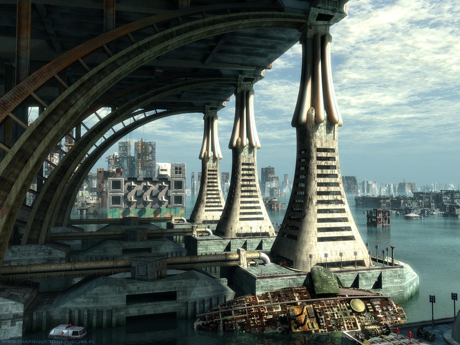 Free Wallpaper Dekstop: Science fiction wallpaper, science fiction wallpapers