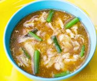 Homemade prawn soup recipe