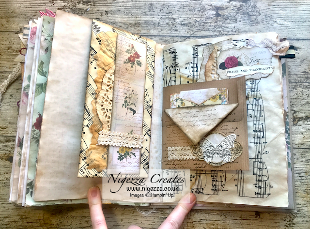 Nigezza Creates My First Junk Journal: Long Envelope With Magnetic Closure