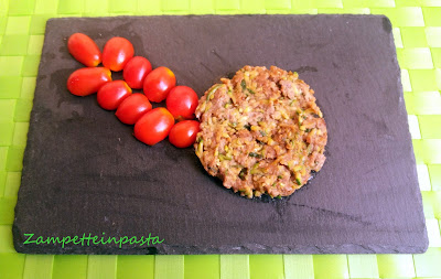 Hamburger con zucchine