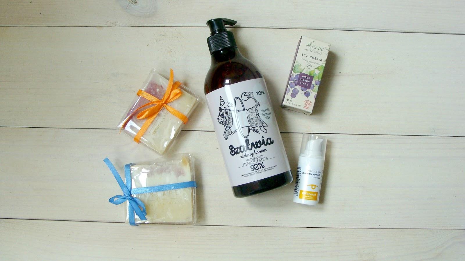 Kosmetyki naturalne, które warto poznać, kivvi, yope, enklare, fitomed