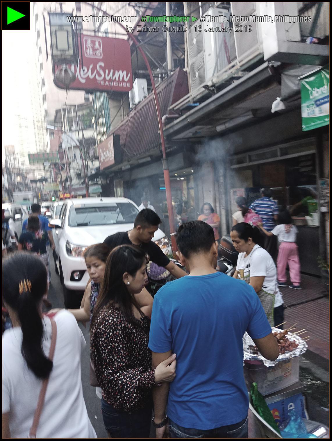 ONGPIN STREET, BINONDO, MANILA