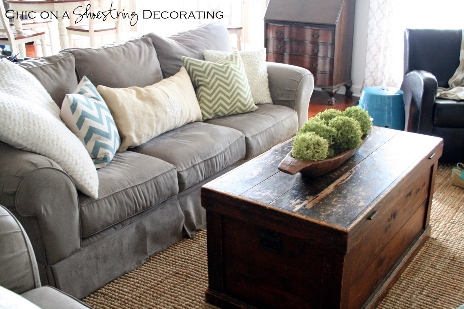 farmhouse chic decor, chic on a shoestring decorating blog
