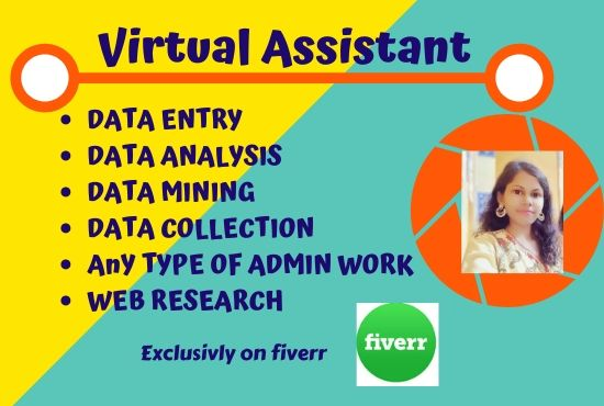 I will be your ideal virtual assistant for  admin support
