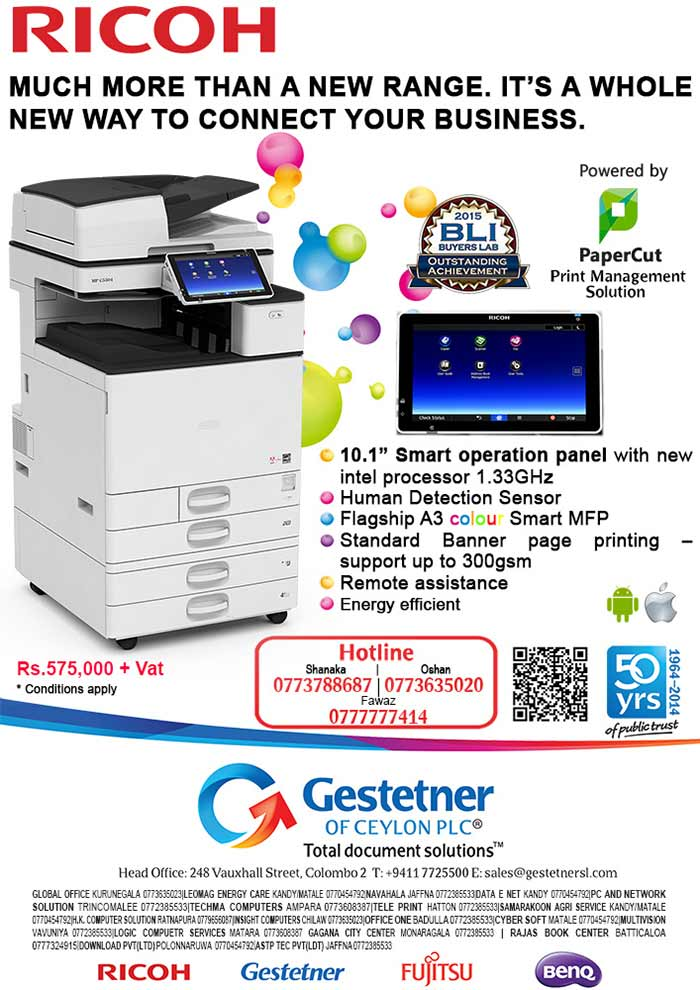 Ricoh Color Copier - Much more than a new range.