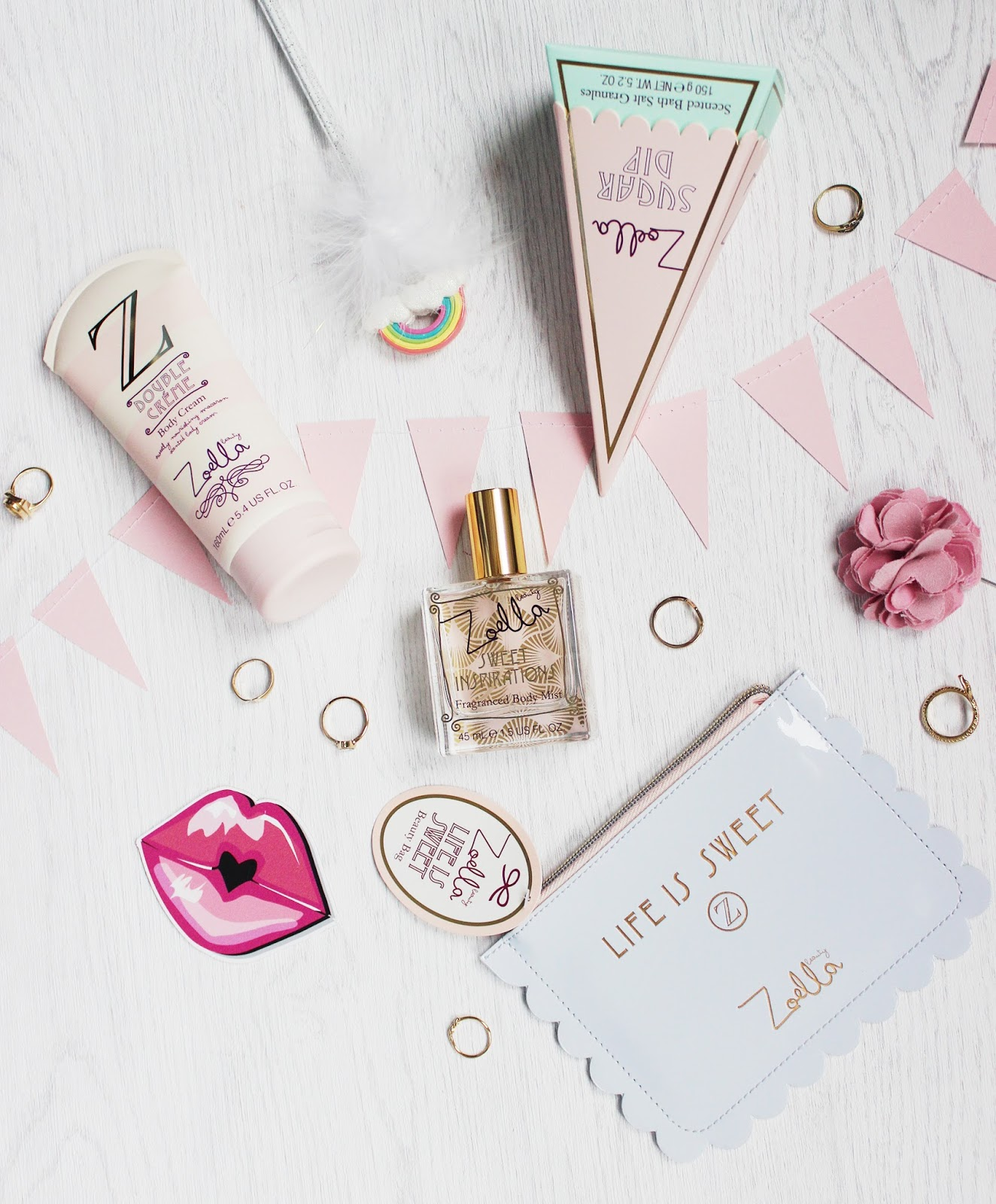 Zoella Life is Sweet bath and body collection review