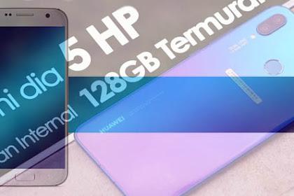 Daftar Smartphone 3 Jutaan dengan Memory Internal 128GB