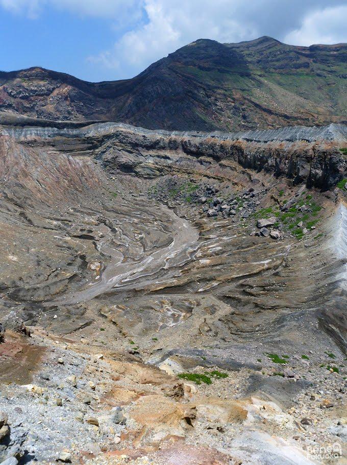 2011年8月 - 阿蘇山、中岳