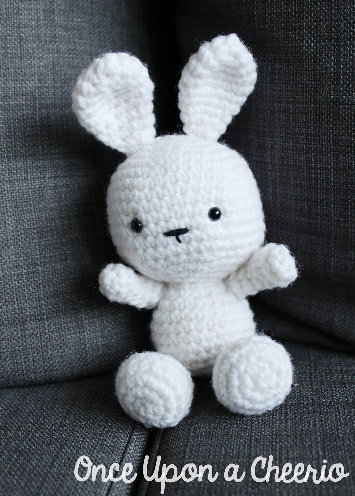 Classic Amigurumi Bunny Free Crochet Pattern