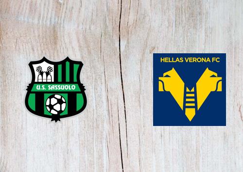 Sassuolo vs Hellas Verona -Highlights 13 March 2021