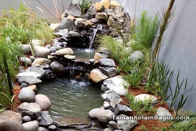 Kolam Minimalis Batu Alam
