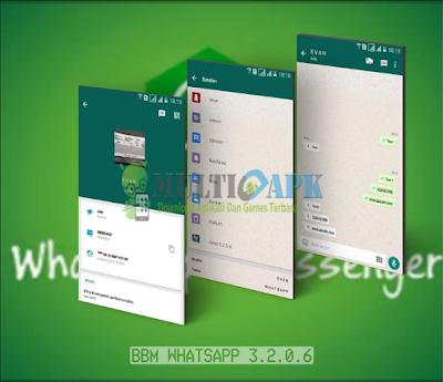 BBM WhatsApp Theme Mod v3.2.0.6 Terbaru Apk Clone Unclone