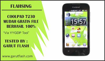 Cara Flash Coolpad 7230 Mudah dan Gratis