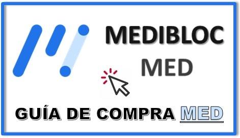Cómo y Dónde Comprar MediBloc MED Tutorial Actualizado