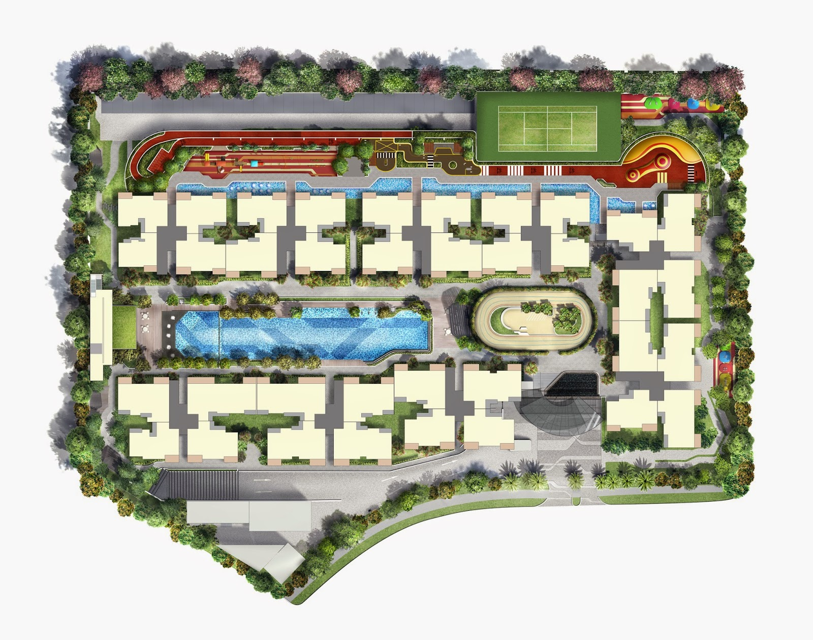 Westwood Residences's Site Plan
