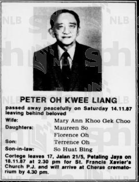 Peter Oh Kwee Liang