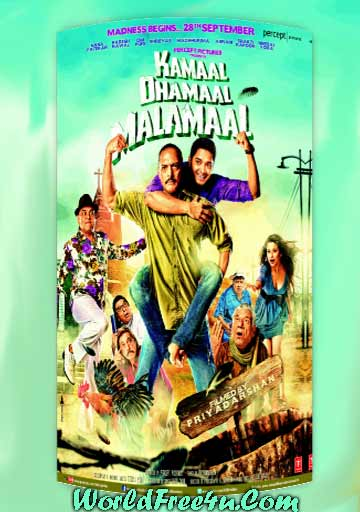 Cover Of Kamaal Dhamaal Malamaal (2012) Hindi Movie Mp3 Songs Free Download Listen Online At worldfree4u.com