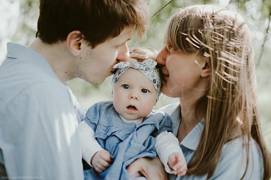 fotografia rodzinna dziekanów leśny
