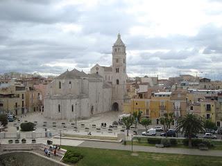 The Basilica of Santa Maria Maggiore in Barletta