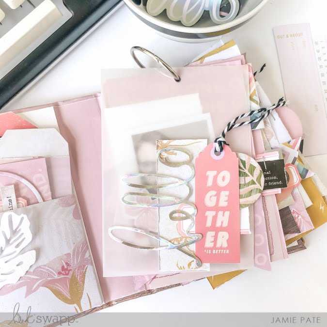 How to craft a Pieces of Me Mini Album with Heidi Swapp Old School