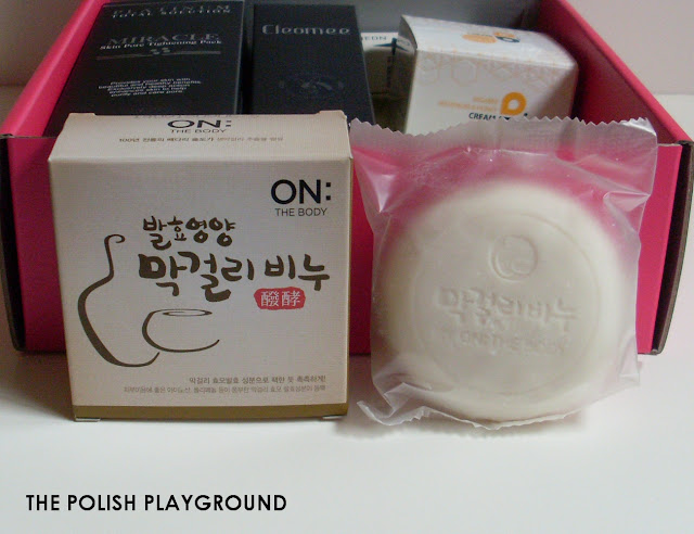 Memebox Special #42 OMG 3 Unboxing - On the Body Makgeolli Soap