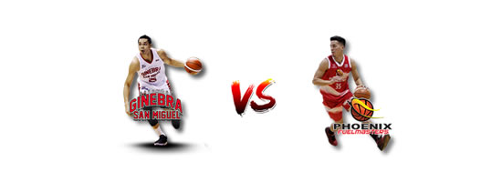 May 20: Ginebra vs Phoenix, 6:45pm Smart Araneta Coliseum