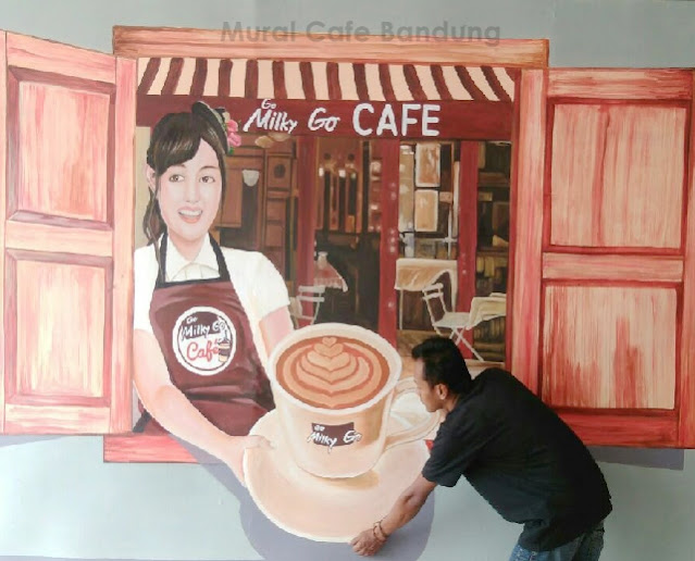 Lukisan Mural Cafe