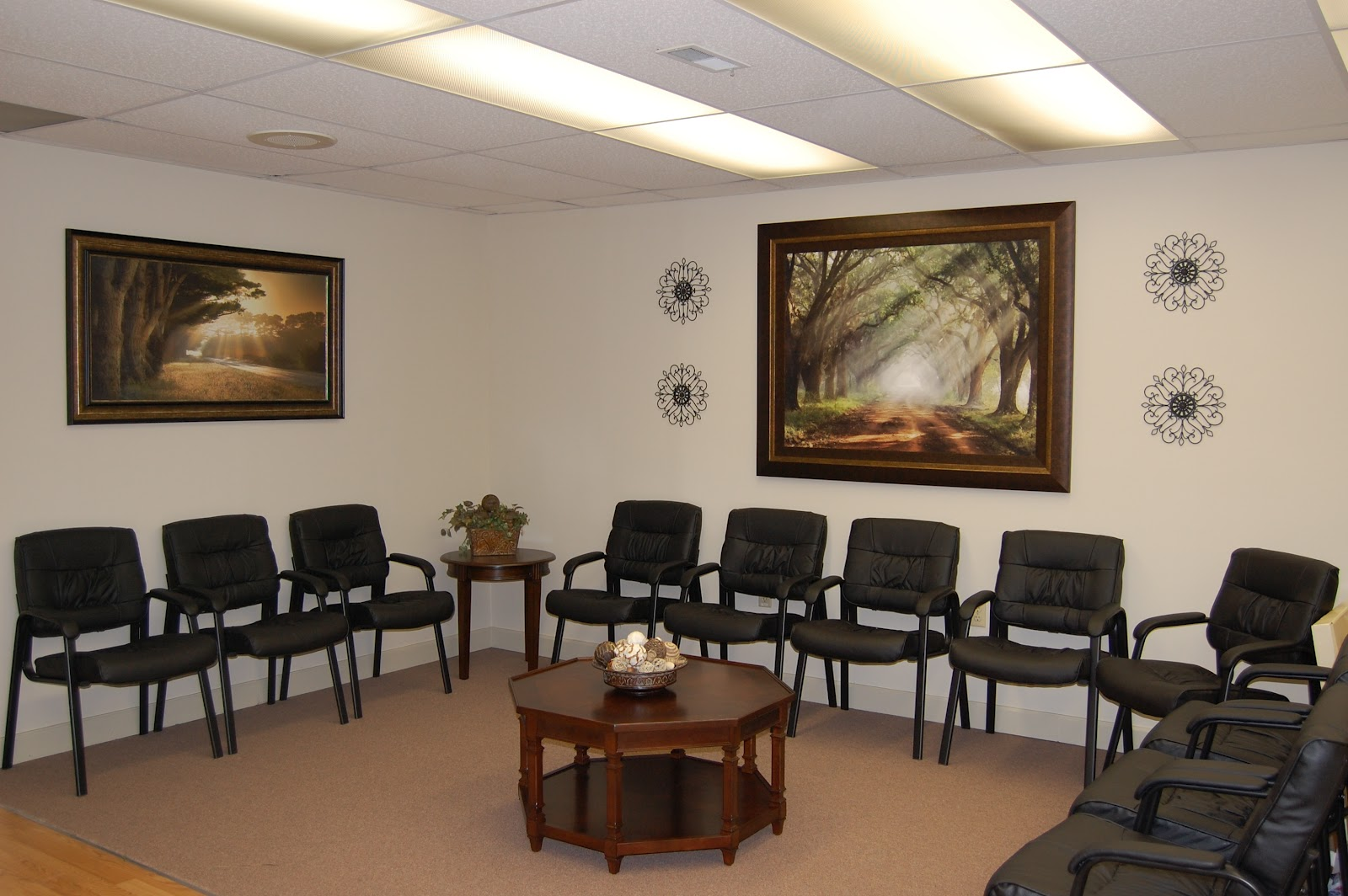 L M Cline's Interior Decorating: Tranquil Doctor's Office ...