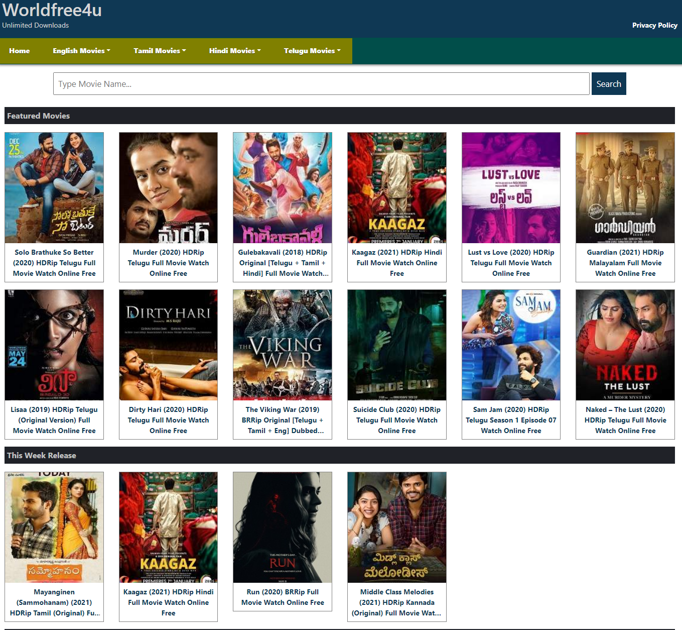 Worldfree4u 2021 - [Piracy Website] Live Link Trade Movies worldfree4u. Lon Bollywood .com Proxy 300mbmovies4u.in- Worldfree4u- 300mb Movies 700mb Bollywood Movies, News About Worldfree4u torrent