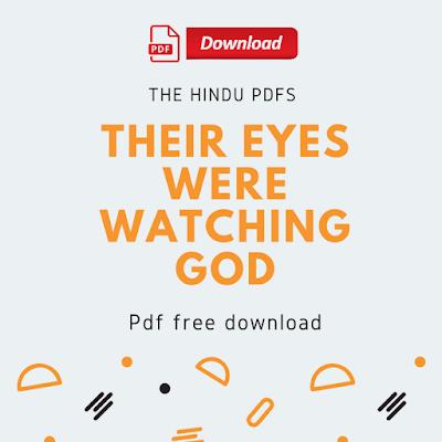 Their Eyes Were Watching God Pdf Free Download