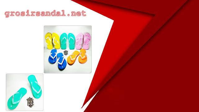 SANDAL PRIA DEWASA | SIZE 35-42 | SANDAL POLOS WARNA