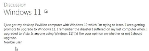Keterangan rumor hadirnys Windows 11