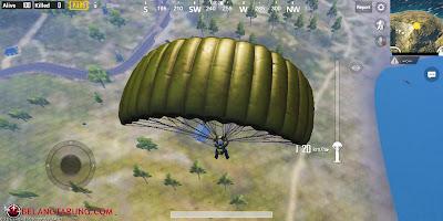 Parachute Dalam PUBG Mobile