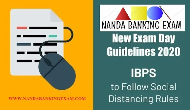 IBPS Exam Day Guidelines 2020: IBPS to Follow Social Distancing Rules