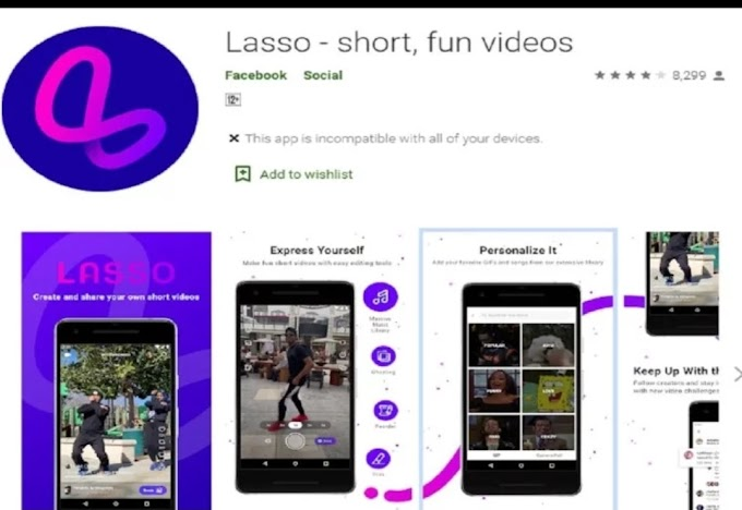 Facebook's app like TikTok will be named Lasso, will work like this