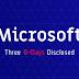 [Cảnh Báo] Chỉ trong 24h, tin tặc đã tiết lộ thêm 4 mã khai thác mới của Microsoft