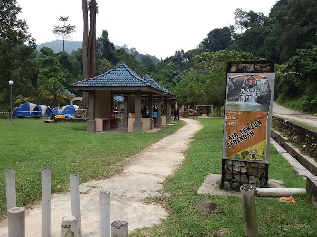 Kawasan Rekreasi Air Terjun Serendah
