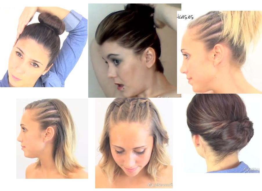Videos de peinados en pelo corto