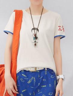 model baju santai untuk wanita