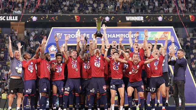 LOSC Lille berhasil menjadi juara Piala Super Prancis 2021