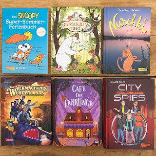 Sommerbücher aus dem Carlsen Verlag