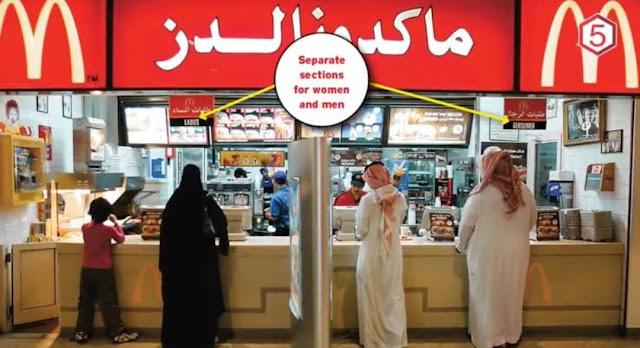 Arab Saudi Hapus Aturan Pemisahan Pria dan Wanita di Restoran